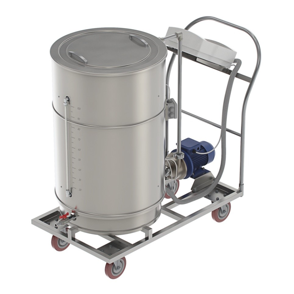 TC-180 Thermal tanks for sterile solutions