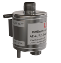 Distillate cooler for AE-4/AE-5 water distiller